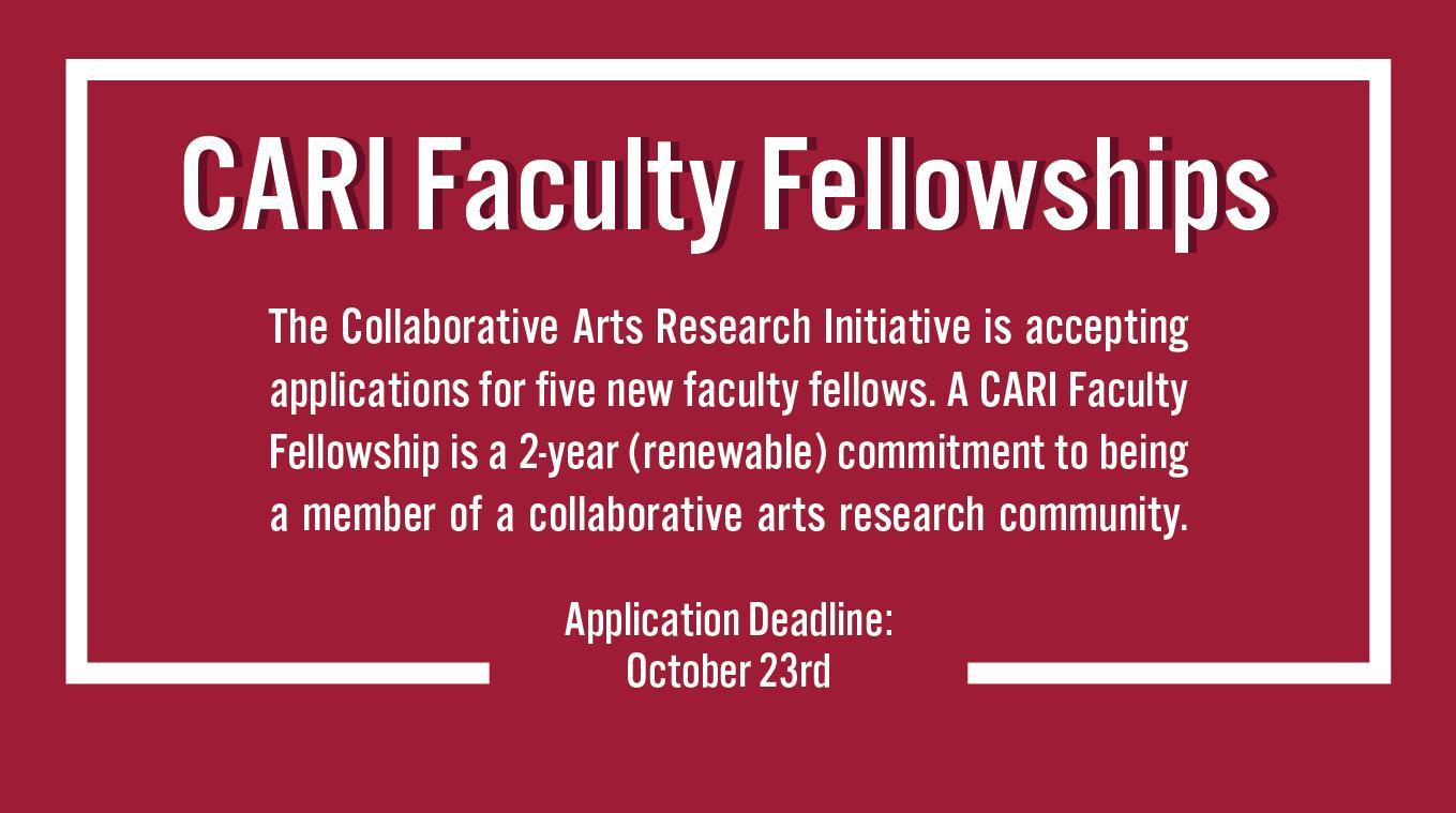 CARI Faculty Fellowships
